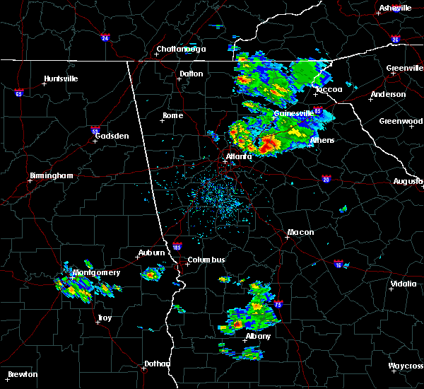 Radar Image for Severe Thunderstorms near Walnut Grove, GA at 6/15/2020 4:05 PM EDT