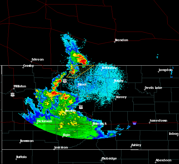 Radar Image for Severe Thunderstorms near Plaza, ND at 6/17/2020 12:12 AM CDT