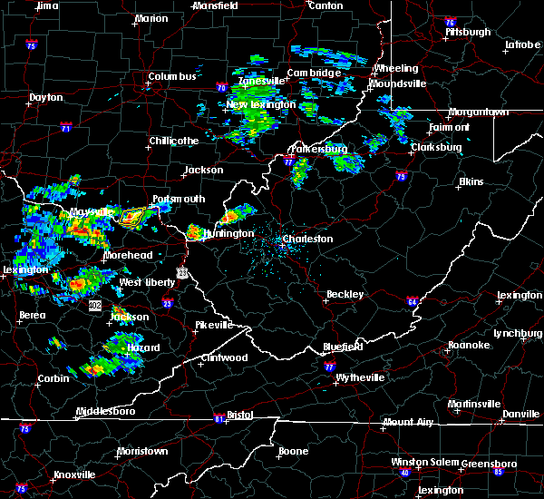 Radar Image for Severe Thunderstorms near Greenup, KY at 6/29/2015 4:57 PM EDT