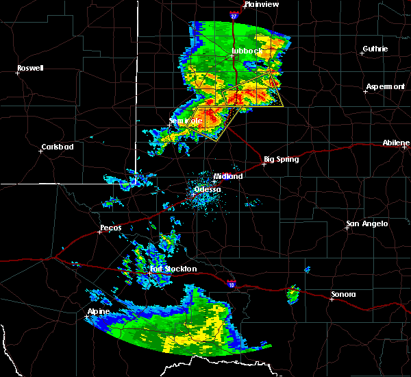 Radar Image for Severe Thunderstorms near Welch, TX at 6/17/2020 8:41 PM CDT