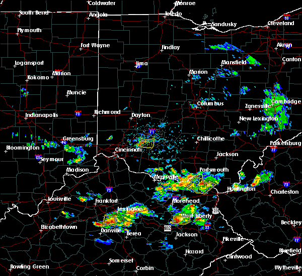 Radar Image for Severe Thunderstorms near Martinsville, OH at 6/29/2015 5:34 PM EDT