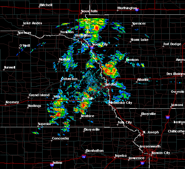 Radar Image for Severe Thunderstorms near Woodland Hills, NE at 6/18/2020 3:56 PM CDT