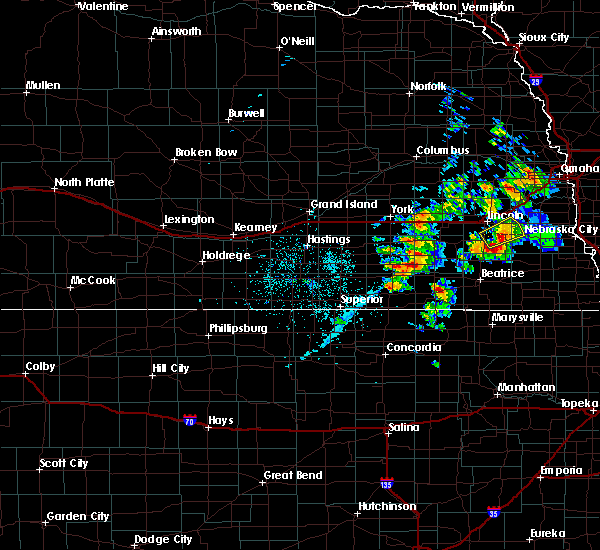 Radar Image for Severe Thunderstorms near Milligan, NE at 6/18/2020 4:10 PM CDT