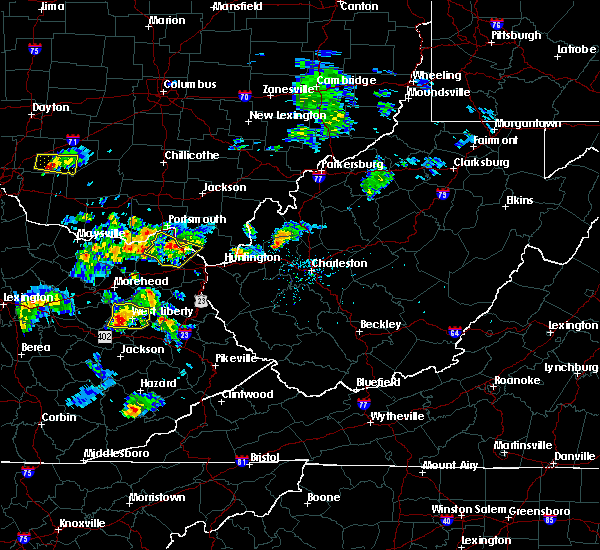 Radar Image for Severe Thunderstorms near Greenup, KY at 6/29/2015 5:34 PM EDT