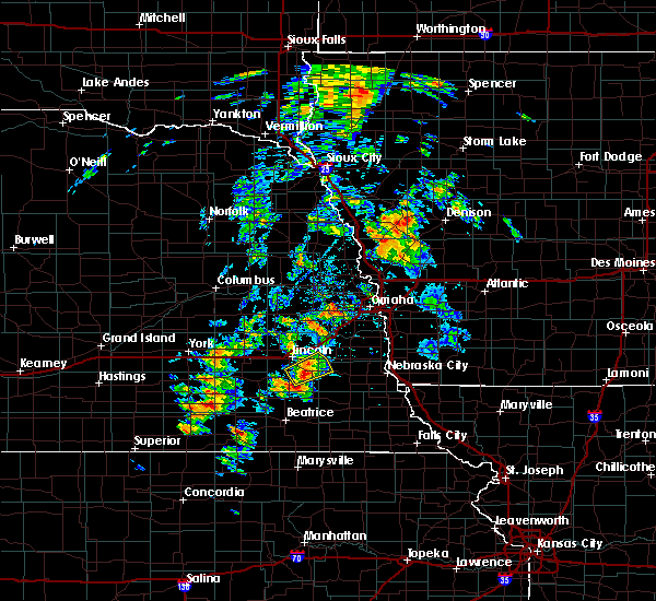 Radar Image for Severe Thunderstorms near Woodland Hills, NE at 6/18/2020 4:13 PM CDT