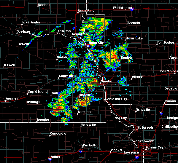 Radar Image for Severe Thunderstorms near Firth, NE at 6/18/2020 4:26 PM CDT