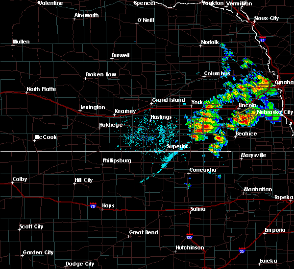 Radar Image for Severe Thunderstorms near Milligan, NE at 6/18/2020 4:30 PM CDT