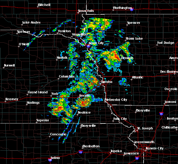 Radar Image for Severe Thunderstorms near Firth, NE at 6/18/2020 4:33 PM CDT