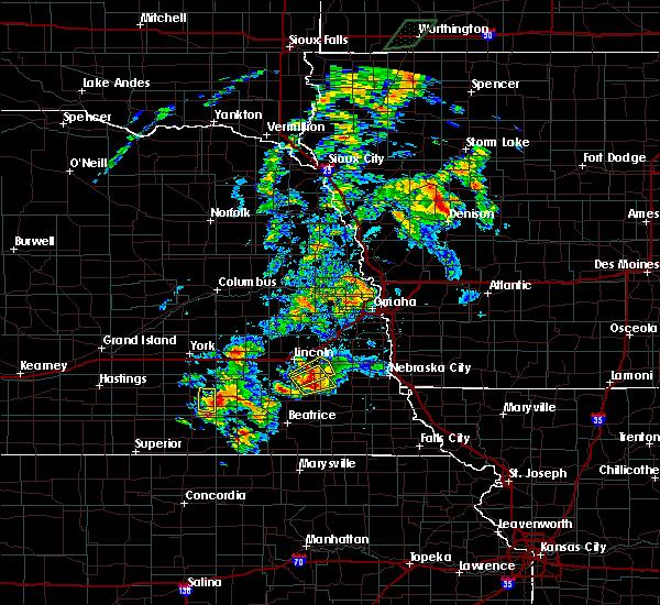 Radar Image for Severe Thunderstorms near Hickman, NE at 6/18/2020 4:46 PM CDT