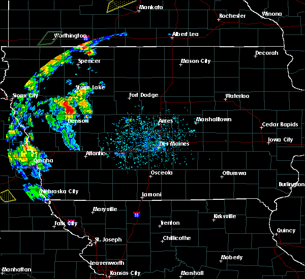 Radar Image for Severe Thunderstorms near Odebolt, IA at 6/18/2020 4:57 PM CDT