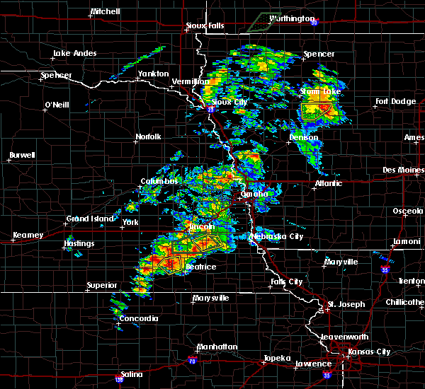 Radar Image for Severe Thunderstorms near Woodland Hills, NE at 6/18/2020 5:39 PM CDT