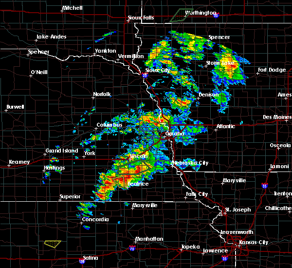 Radar Image for Severe Thunderstorms near Firth, NE at 6/18/2020 5:56 PM CDT
