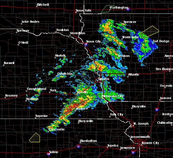 Radar Image for Severe Thunderstorms near Firth, NE at 6/18/2020 6:31 PM CDT