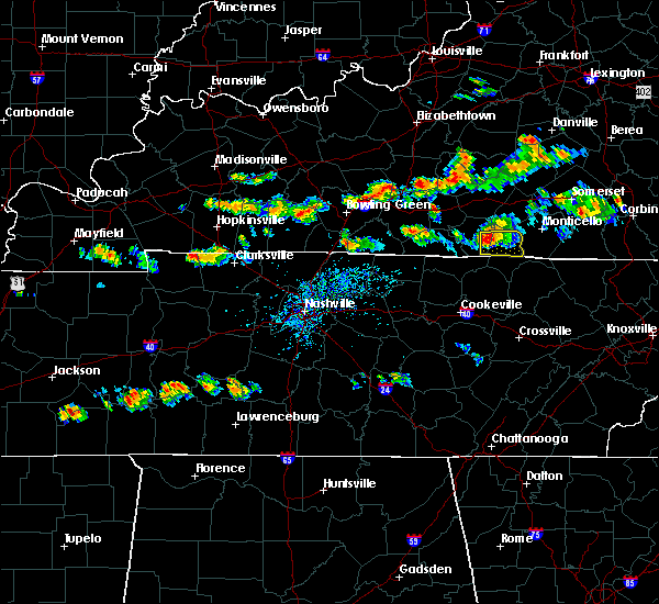 Radar Image for Severe Thunderstorms near Albany, KY at 6/29/2015 4:46 PM CDT