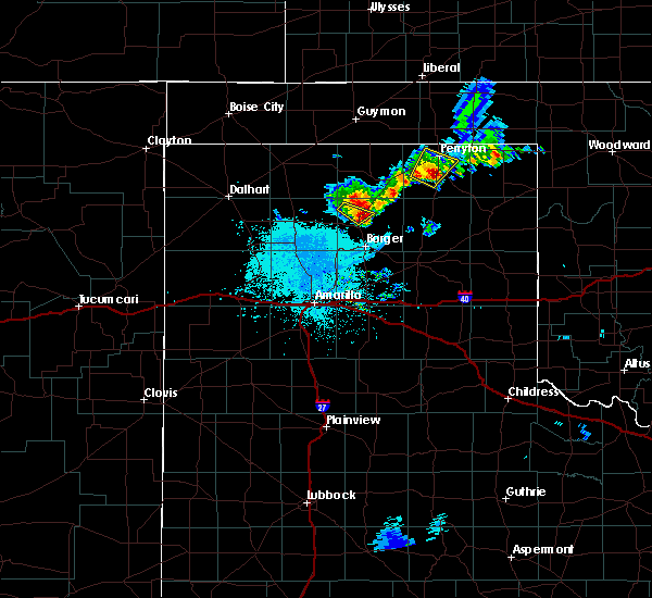Radar Image for Severe Thunderstorms near Perryton, TX at 6/19/2020 2:32 AM CDT