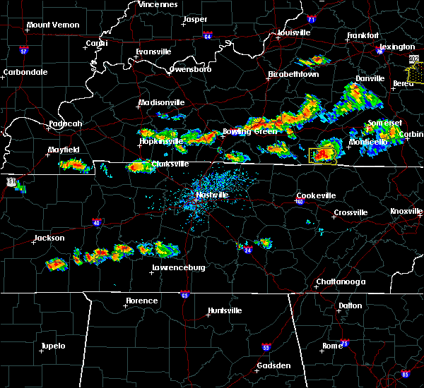 Radar Image for Severe Thunderstorms near Albany, KY at 6/29/2015 4:56 PM CDT