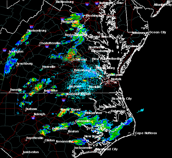 Radar Image for Severe Thunderstorms near Mechanicsville, VA at 6/19/2020 2:49 PM EDT