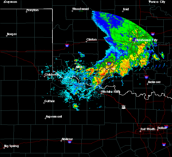 Radar Image for Severe Thunderstorms near Central High, OK at 6/19/2020 2:20 PM CDT