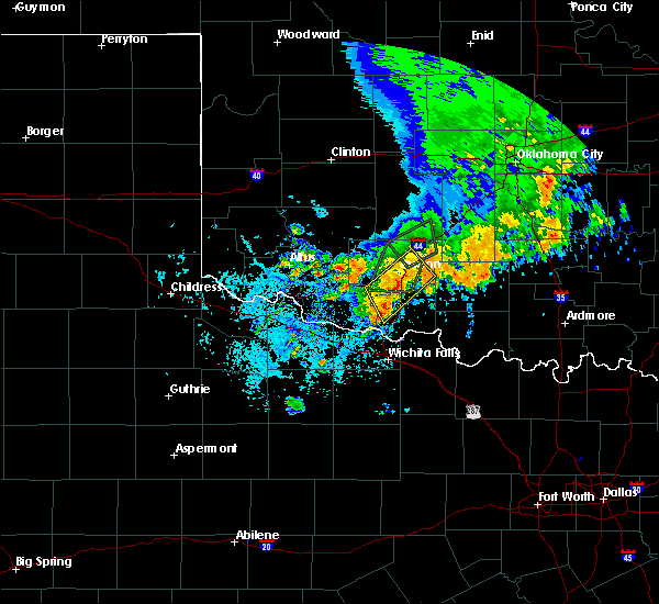 Radar Image for Severe Thunderstorms near Central High, OK at 6/19/2020 2:36 PM CDT
