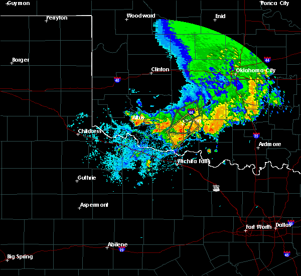 Radar Image for Severe Thunderstorms near Electra, TX at 6/19/2020 2:54 PM CDT