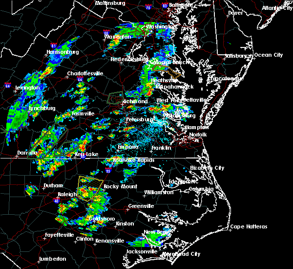 Radar Image for Severe Thunderstorms near South Hill, VA at 6/19/2020 4:09 PM EDT