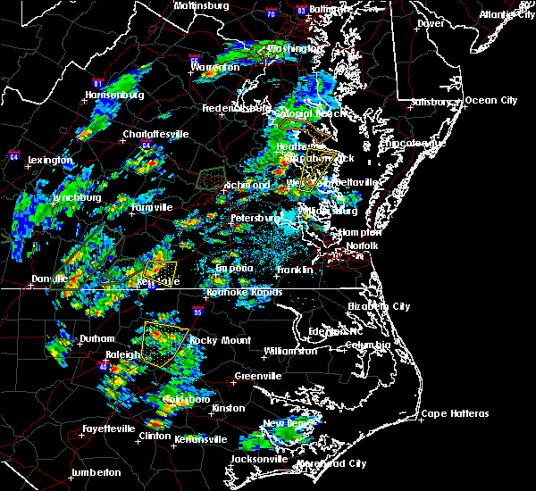 Radar Image for Severe Thunderstorms near West Point, VA at 6/19/2020 4:26 PM EDT