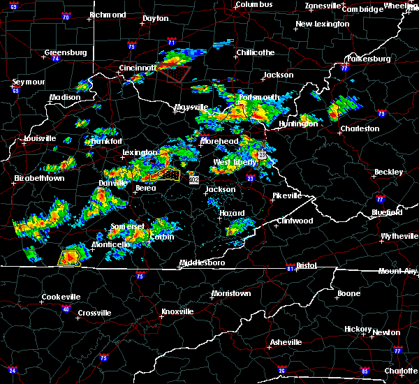Radar Image for Severe Thunderstorms near Stanton, KY at 6/29/2015 6:05 PM EDT