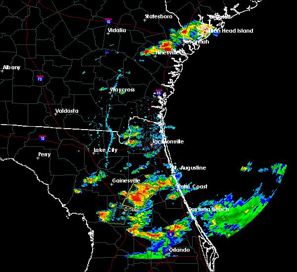 Radar Image for Severe Thunderstorms near Interlachen, FL at 6/19/2020 6:17 PM EDT
