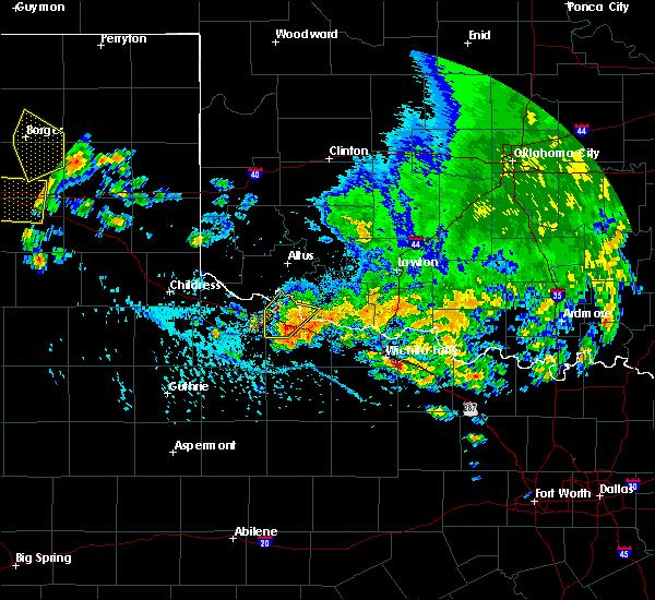 Radar Image for Severe Thunderstorms near Vernon, TX at 6/19/2020 5:41 PM CDT