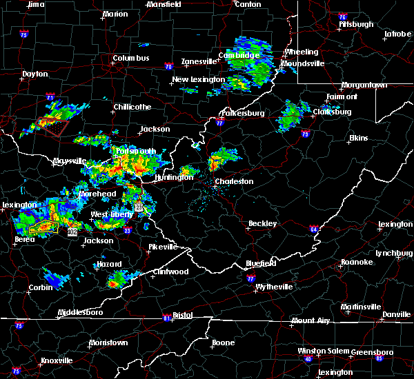 Radar Image for Severe Thunderstorms near Russell, KY at 6/29/2015 6:09 PM EDT