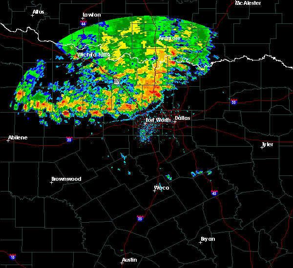 Radar Image for Severe Thunderstorms near Southlake, TX at 6/19/2020 7:50 PM CDT