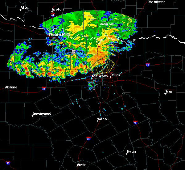 Radar Image for Severe Thunderstorms near Southlake, TX at 6/19/2020 8:07 PM CDT