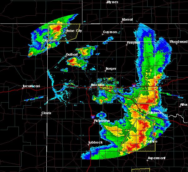 Radar Image for Severe Thunderstorms near Boise City, OK at 6/19/2020 8:16 PM CDT