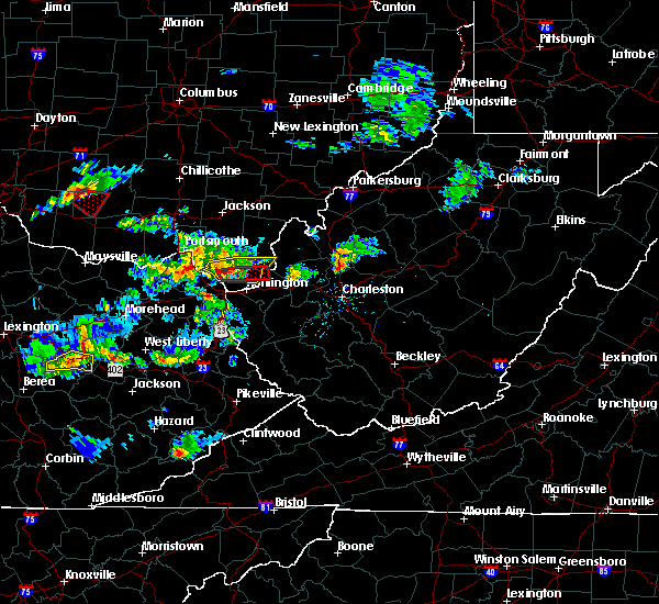 Radar Image for Severe Thunderstorms near Athalia, OH at 6/29/2015 6:15 PM EDT