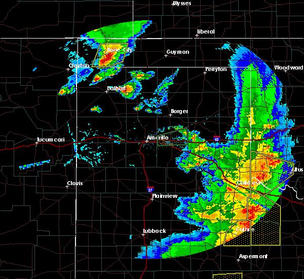 Radar Image for Severe Thunderstorms near Boise City, OK at 6/19/2020 8:51 PM CDT