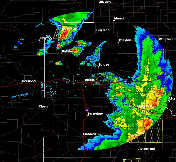 Radar Image for Severe Thunderstorms near Boise City, OK at 6/19/2020 8:56 PM CDT
