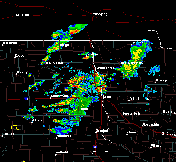 Radar Image for Severe Thunderstorms near Finley, ND at 6/20/2020 3:08 PM CDT
