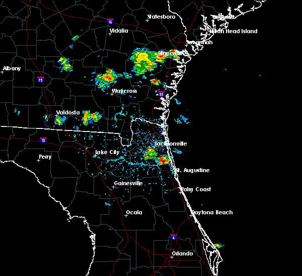Radar Image for Severe Thunderstorms near World Golf Village, FL at 6/20/2020 5:51 PM EDT