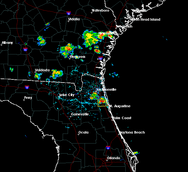Radar Image for Severe Thunderstorms near World Golf Village, FL at 6/20/2020 5:56 PM EDT
