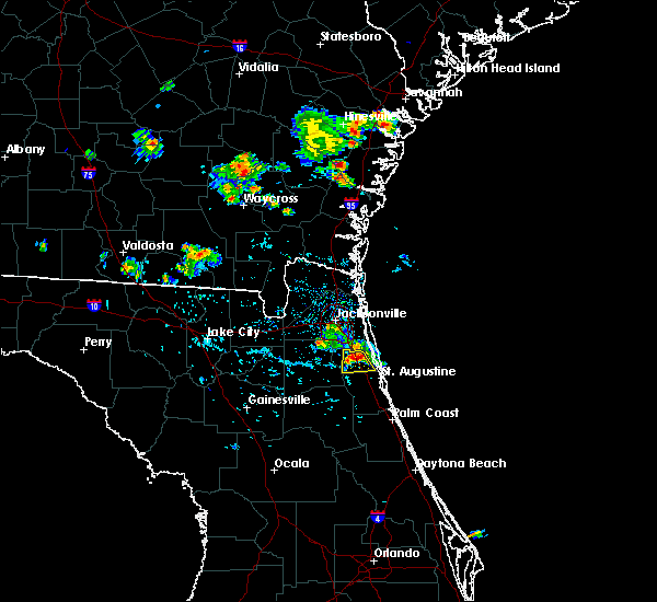 Radar Image for Severe Thunderstorms near World Golf Village, FL at 6/20/2020 6:01 PM EDT