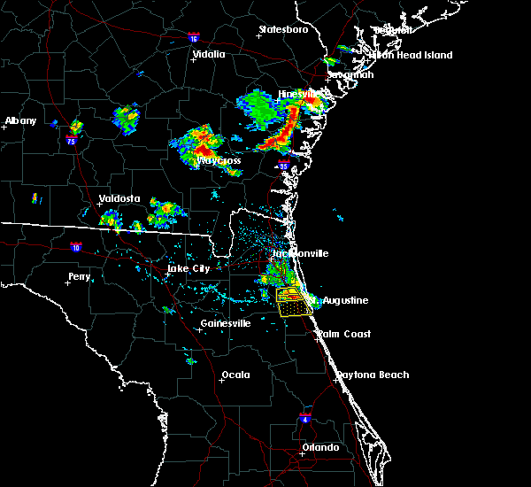 Radar Image for Severe Thunderstorms near World Golf Village, FL at 6/20/2020 6:14 PM EDT