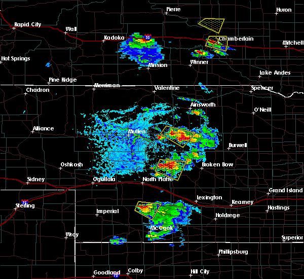 Radar Image for Severe Thunderstorms near Maywood, NE at 6/20/2020 5:53 PM CDT