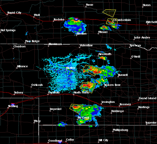 Radar Image for Severe Thunderstorms near Brewster, NE at 6/20/2020 5:58 PM CDT