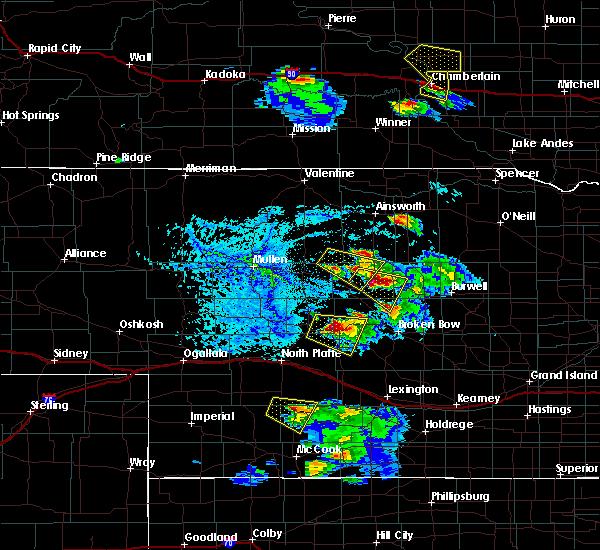 Radar Image for Severe Thunderstorms near Arnold, NE at 6/20/2020 6:11 PM CDT