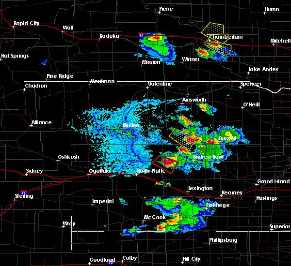 Radar Image for Severe Thunderstorms near Sargent, NE at 6/20/2020 6:28 PM CDT