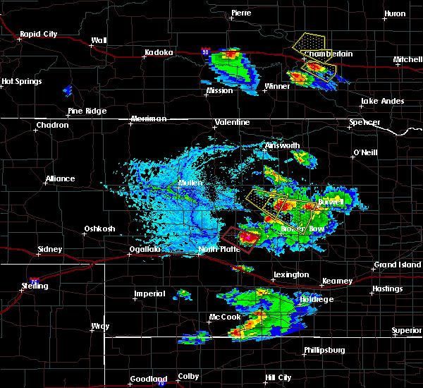 Radar Image for Severe Thunderstorms near Sargent, NE at 6/20/2020 6:46 PM CDT