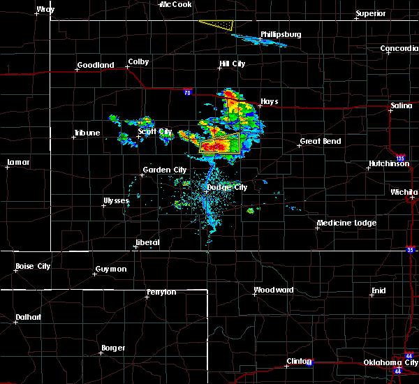 Radar Image for Severe Thunderstorms near Hanston, KS at 6/20/2020 7:35 PM CDT