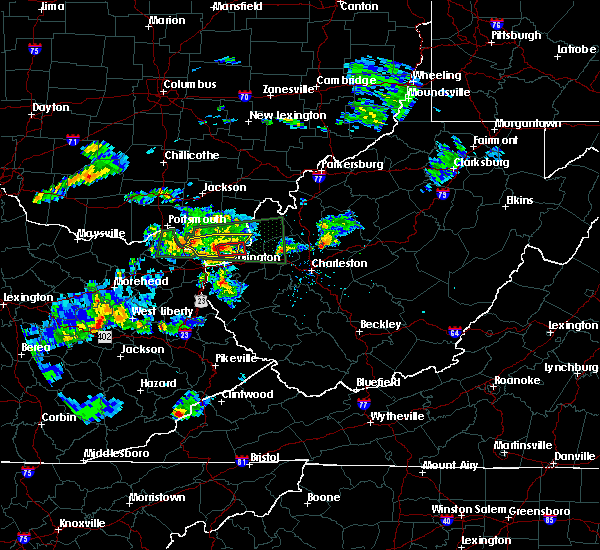 Radar Image for Severe Thunderstorms near Athalia, OH at 6/29/2015 6:33 PM EDT