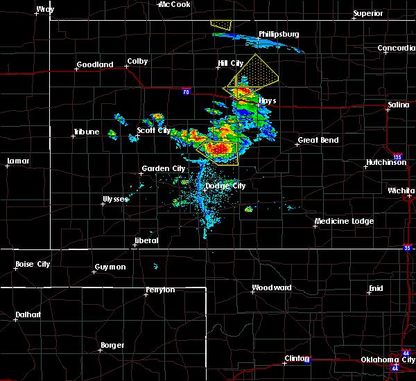 Radar Image for Severe Thunderstorms near Hanston, KS at 6/20/2020 7:51 PM CDT