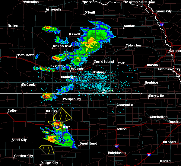 Radar Image for Severe Thunderstorms near Norton, KS at 6/20/2020 7:54 PM CDT